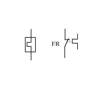 热继电器符号及参数
